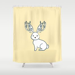 Jackelope of all trades Shower Curtain