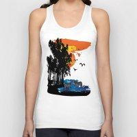safari Tank Tops featuring Safari  by Cindys
