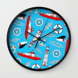 O Captain! My Captain! Wall Clock