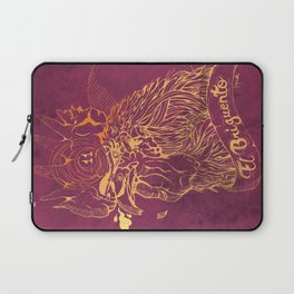El Briguento - The Fighter (Golden) Laptop Sleeve