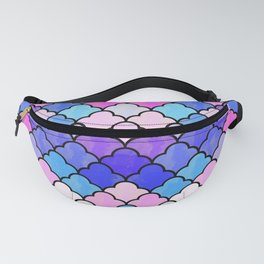 Watercolor Lovely Pattern VVXIII Fanny Pack