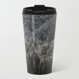 Powdered Mountain Metal Travel Mug