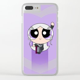 Powerpuff Dany Clear iPhone Case