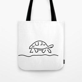 tortoise reptiles tank Tote Bag