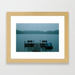 Hunky Dory Dock Framed Art Print
