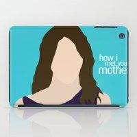 himym iPad Cases featuring Robin Scherbatsky HIMYM by Rosaura Grant