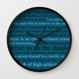 It's Not the Critic That Counts / Blue Wall Clock