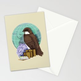 Little World Traveler Stationery Cards