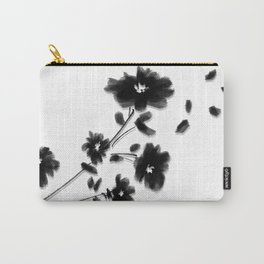Large Daisy Design Carry-All Pouch
