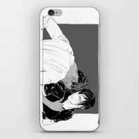 yaoi iPhone & iPod Skins featuring Getting Older by Cassandra Jean