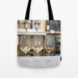 Wine Time in Santa Barbara, California Tote Bag