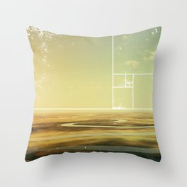Nothingness Throw Pillow