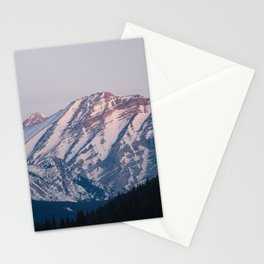 Golden Hour in the Rockies Stationery Cards