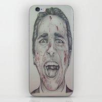 american psycho iPhone & iPod Skins featuring American Psycho by A.H.