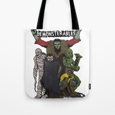 The Demonsterables Tote Bag