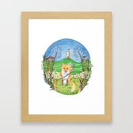 Felix the Fox Framed Art Print
