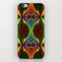 beaver iPhone & iPod Skins featuring Beaver Traps by Robin Curtiss