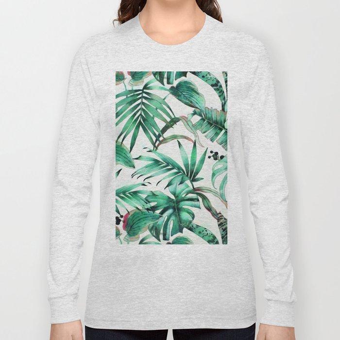 b98f3439 Jungle vibes I Long Sleeve T-shirt by catyarte | Society6