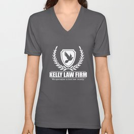 Always Sunny In Bird Law Charlie Kelly Law T-Shirts Unisex V-Neck