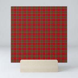 Tartan Classic Style Red and Green Plaid Mini Art Print