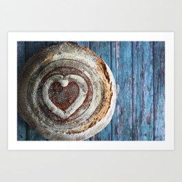 Sourdough Bread Boule I Art Print