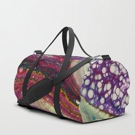 Euphoria-2, Pouring medium, acrylic on canvas Duffle Bag