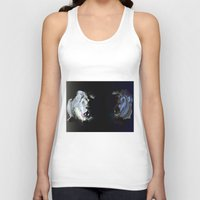 lions Tank Tops featuring Lions' choir by Eric Bassika