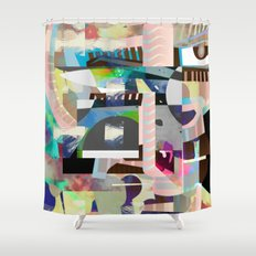 Save Face Shower Curtain