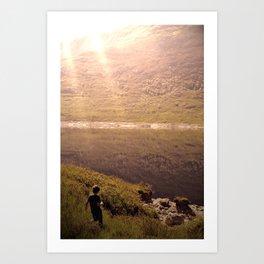Road to Skye Art Print