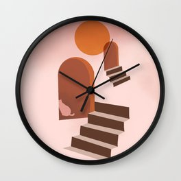 Hidden Cat 1 Wall Clock