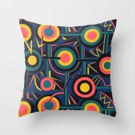 Circle Cirlce Throw Pillow