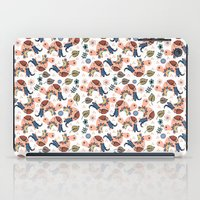 turtles iPad Cases featuring Turtles by luizavictoryaPatterns