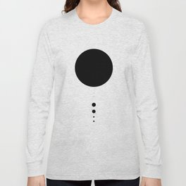 The Solar System (white) Long Sleeve T-shirt