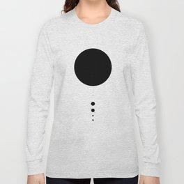 The Solar System (white) Long Sleeve T-shirt