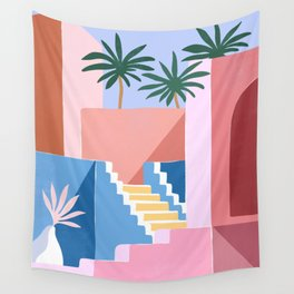 Conceptual home no.1 Wall Tapestry