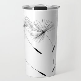 Dandelion seeds, Travel Mug