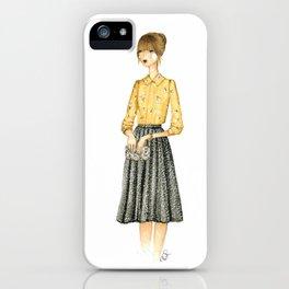 Autumn Girl iPhone Case