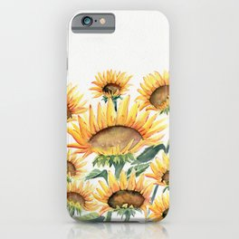Sunflowers Love iPhone Case