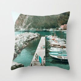 Sant'Angelo view Throw Pillow