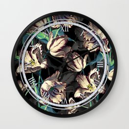 NIGHT FOREST XIII Wall Clock