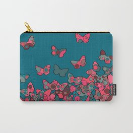 Flutterflies Carry-All Pouch