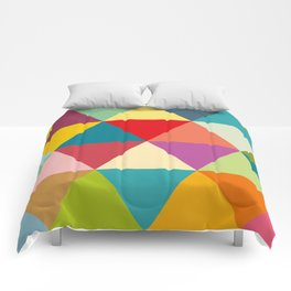 Colourful triangles Comforters