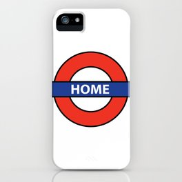 Underground Home Sign iPhone Case