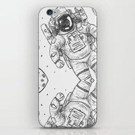 astro Traveller Retro iPhone Skin