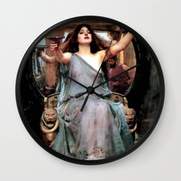 "John William Waterhouse ""Circe Offering the Cup to Odysseus"" Wall Clock"