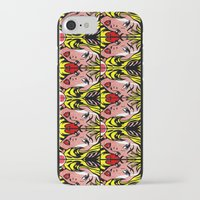 popart iPhone & iPod Cases featuring PopArt Girl by BURPdesigns