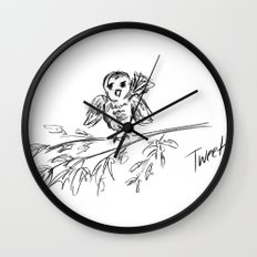 A Bird :: The Original Tweet Wall Clock