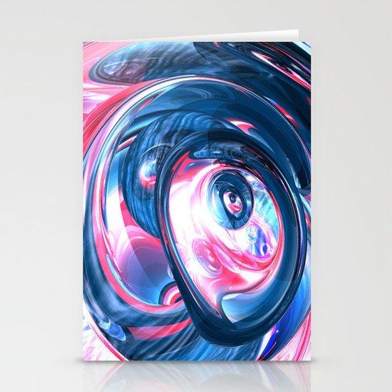 pinkvsblue Stationery Cards
