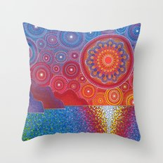 Kauai, Hawaii Sunset Throw Pillow