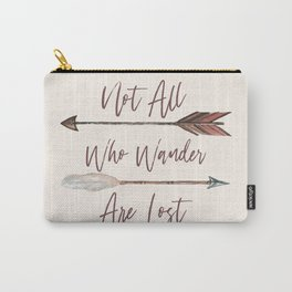 Wander Boho Rose Carry-All Pouch